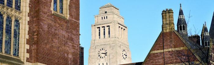 The Parkinson tower and Great Hall